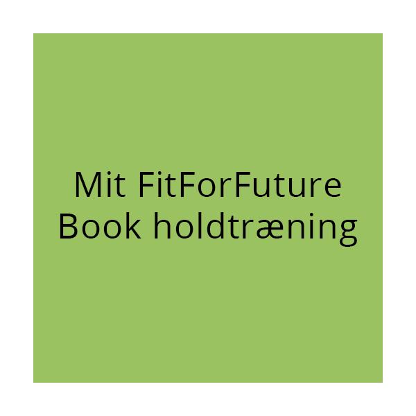 Fit for future, Book holdtræning
